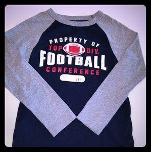 Childrens place Boys long sleeve football shirt